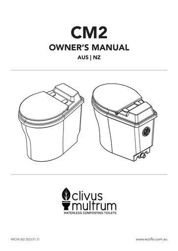 Clivus Multrum CM2 Manual