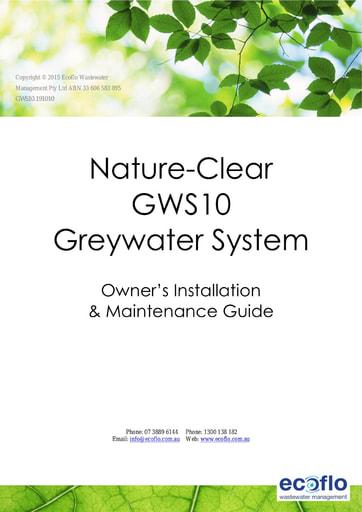 GWS10 Installation & Maintanence Manual