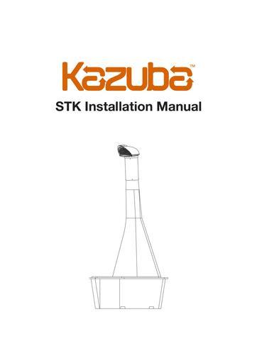 Kazuba STK Installation Manual