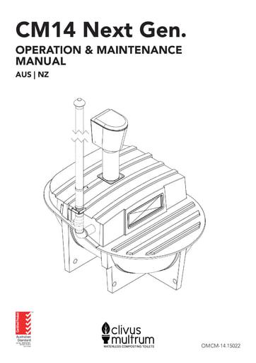 CM14 Next Gen. Operation and Maintenance Manual