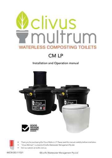 CM LP Installation and Operation Manual